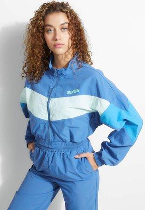 Fleece jumper - blauw multi