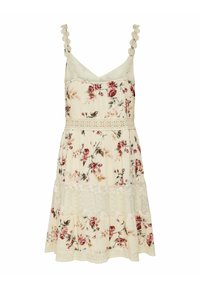 ONLY - ONLKARMEN ANNE LIFE DRESS - Day dress - creme brûlée - 1
