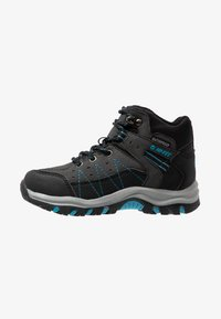 Hi-Tec - SHIELD WP - Trekingové boty - dark grey/black/lake blue