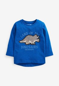 Next - DINO FLIPPY SEQUIN - Longsleeve - blue - 3
