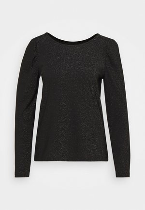 SHINY - Long sleeved top - black
