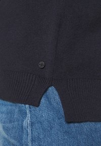 Marc O'Polo - LONGSLEEVE BASIC WITH ROUNDNECK - Jumper - midnight blue - 5
