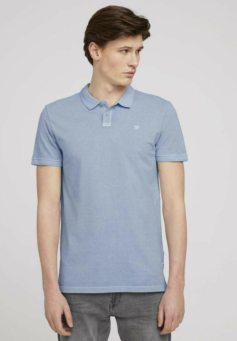 TOM TAILOR DENIM - Polo - foggy blue