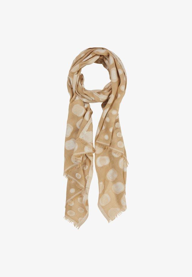 Sjaal - brown aop