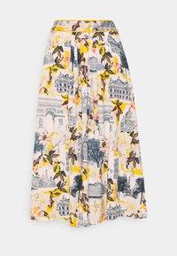 Thought - EL AUDAZ FLARED SKIRT - A-line skirt - lemon yellow - 0