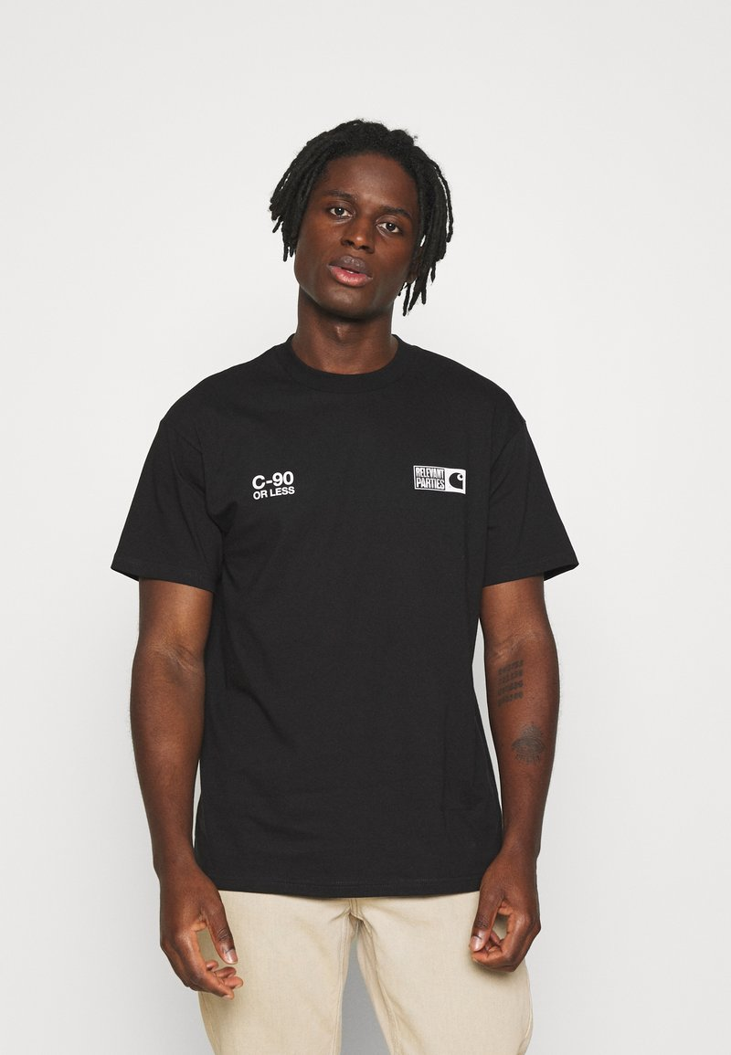 Carhartt WIP - RELEVANT PARTIES VOL 1 - Triko s potiskem - black