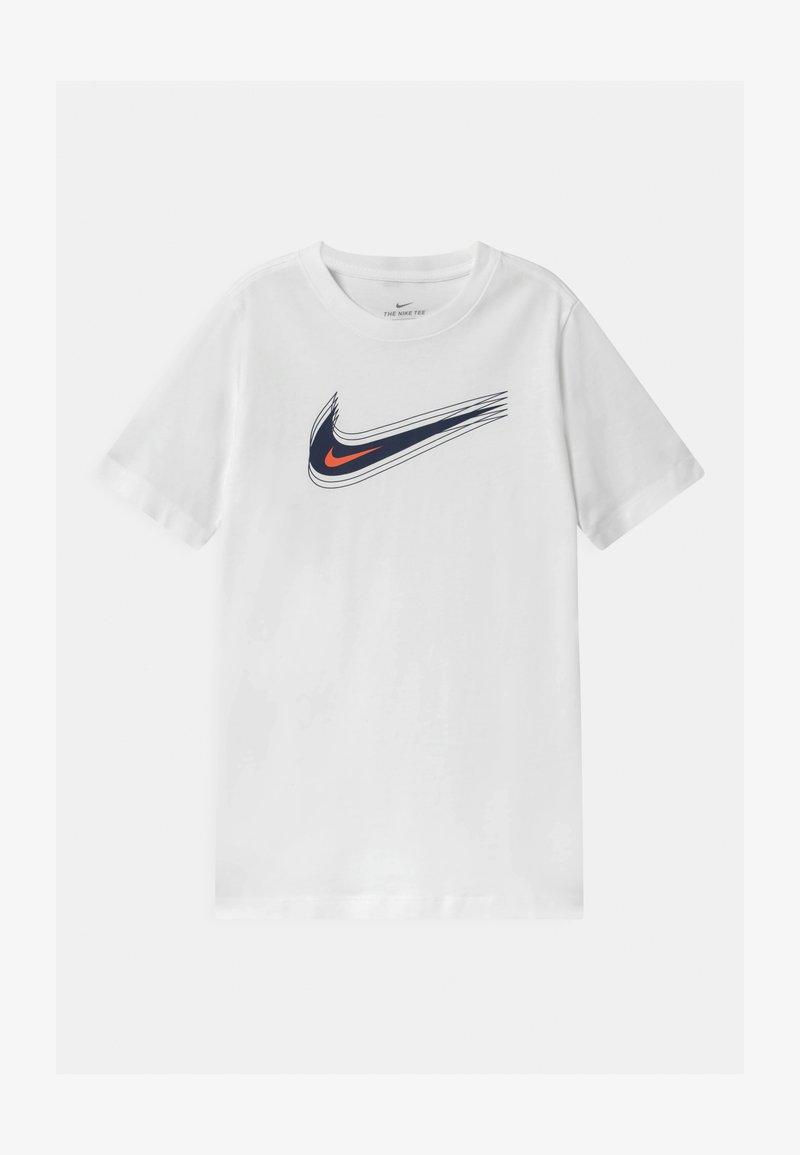 Nike Sportswear - UNISEX - Printtipaita - white/black