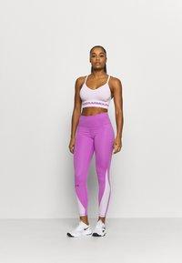 Under Armour - Sports bra - crystal lilac - 1