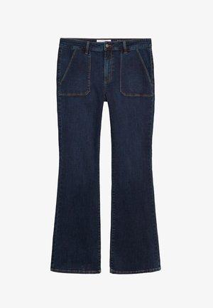 ZENDAYA - Flared jeans - blau
