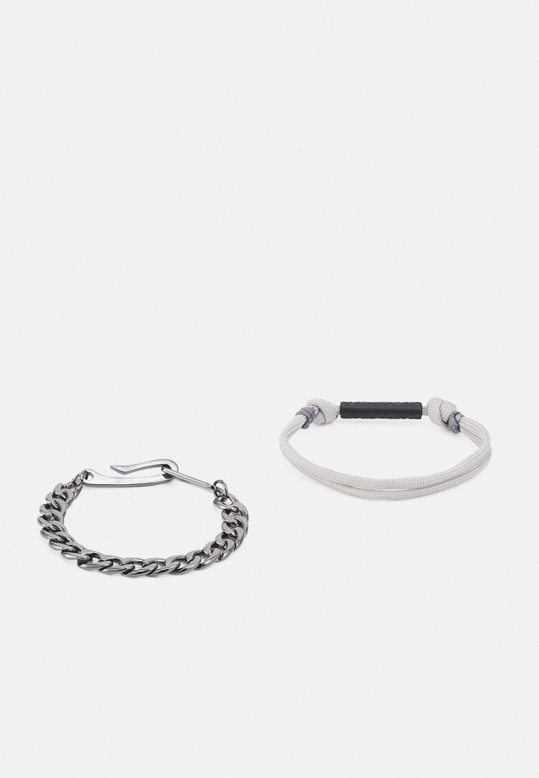 Homme TRIBAL TECH PATTERN TUBE BRACELET COMBO 2 PACK - Bracelet