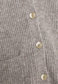 JDY - JDYHUDSON LIFE  - Waistcoat - mottled dark grey - 4