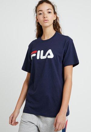 PURE - T-shirts med print - black iris