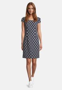 Betty Barclay - Day dress - dunkelblau/weiß - 0