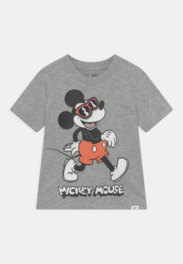 DISNEY MICKEY MOUSE GRAPHIC - T-shirt print - light heather grey