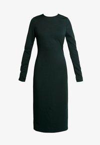 TWIST BACK BODYCON DRESS - Tubino - dark green