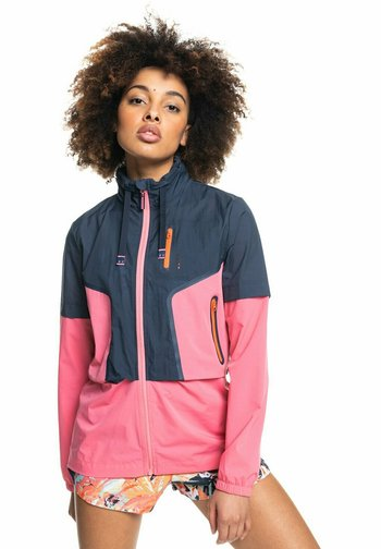 Waterproof jacket - mood indigo