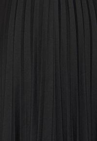Esprit - PLISEE SKIRT - Jupe plissée - black - 2