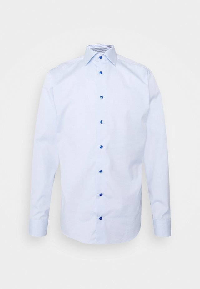 SLIM ETON DETAILS - Formal shirt - blue poplin