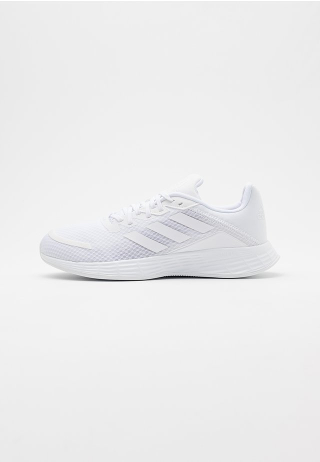 DURAMO - Zapatillas de running neutras - footwear white/grey two