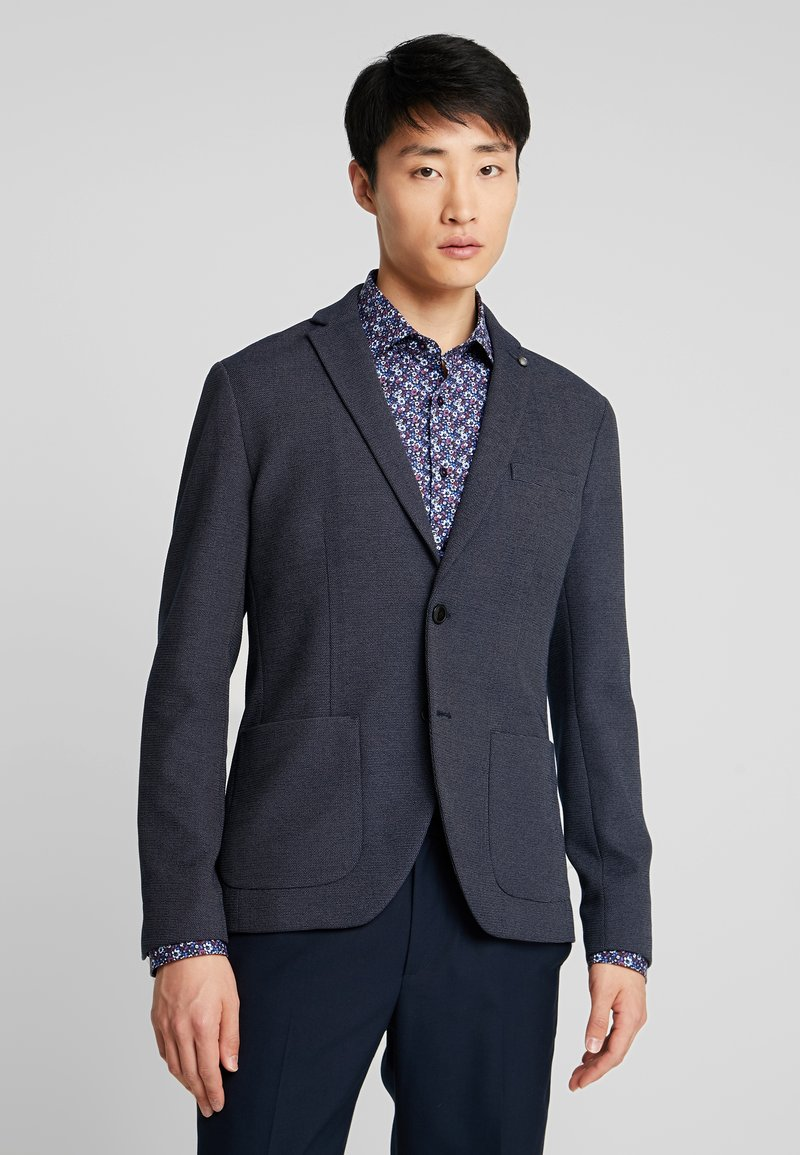 Selected Homme - SLHSLIM IKEN BLAZER - Blazer jacket - dark navy