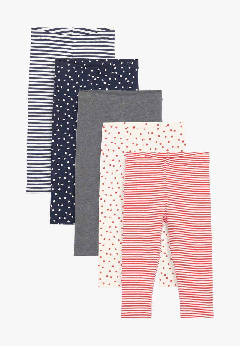 Next - 5 PACK - Leggings - Trousers - red
