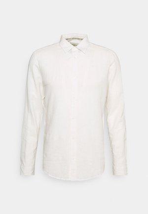 LEINEN MIX - Formal shirt - off white