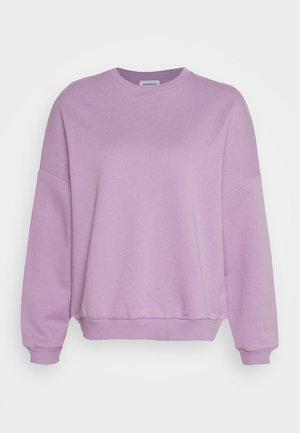 Oversized Sweatshirt - Sweatshirt - lilac