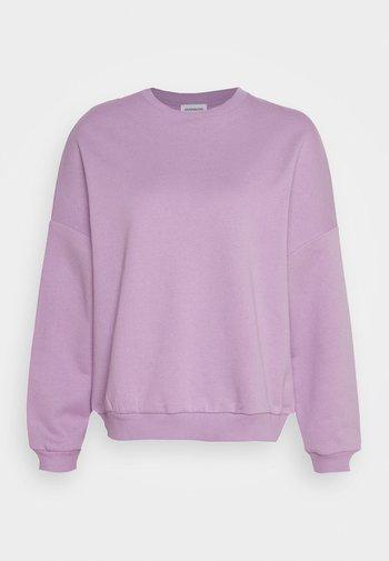 Oversized Sweatshirt - Felpa - lilac