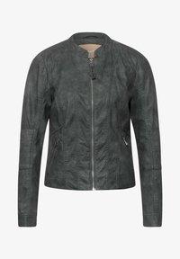 Street One - Faux leather jacket - grau - 1