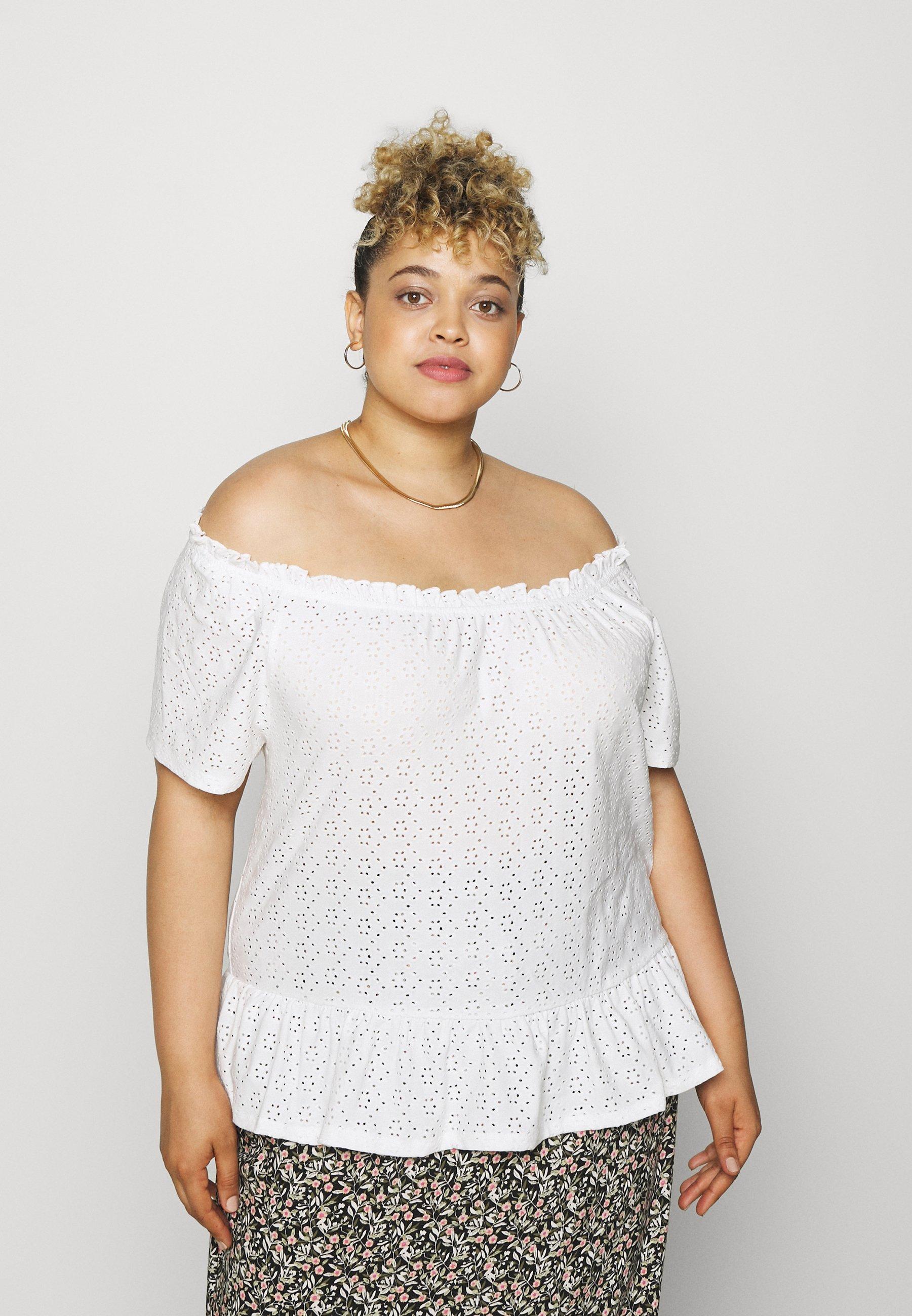 Women CARLINY OFF SHOULDER - Print T-shirt