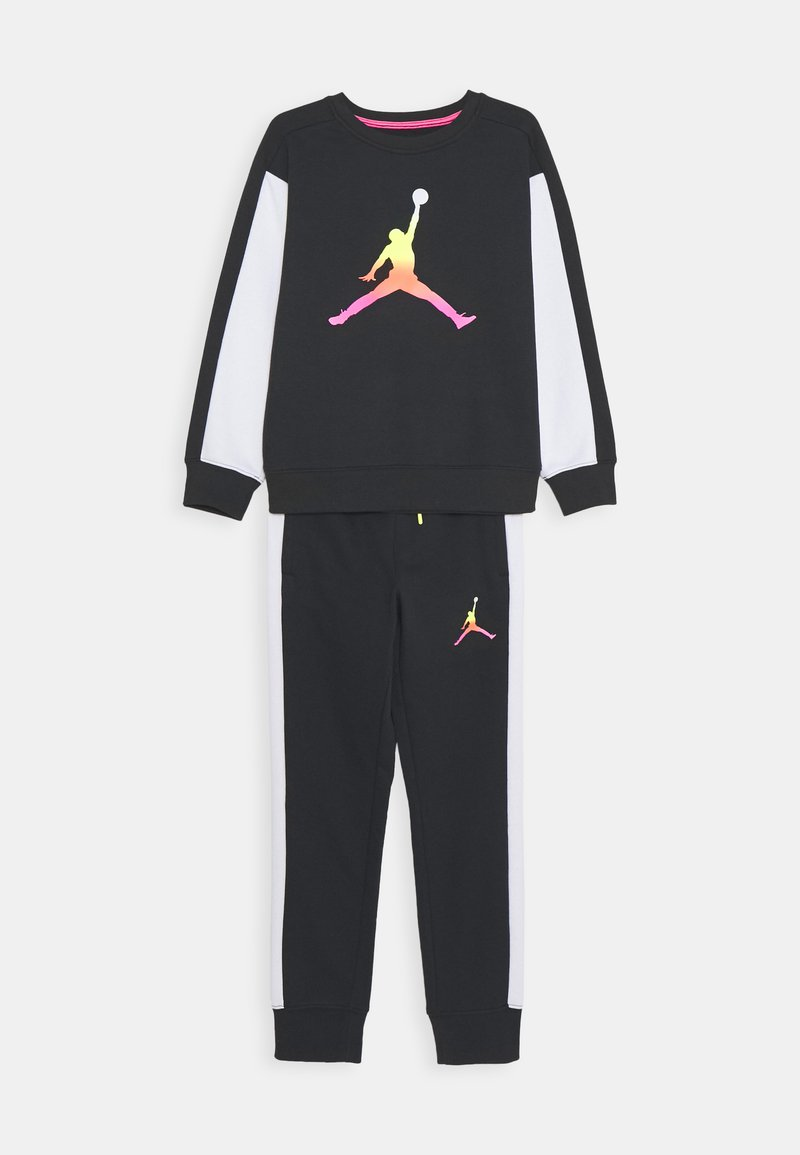 Jordan - JUMPMAN AIR RISE CREW SET - Tracksuit - black