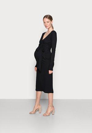 NURSING DRESS - Jersey dress - black