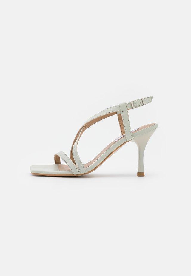 ALVINA - Sandals - light grey