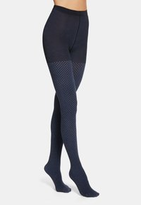 Wolford - FIDES  - Tights - black/egyptian blue - 0