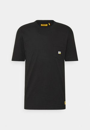 POCKET - Basic T-shirt - black
