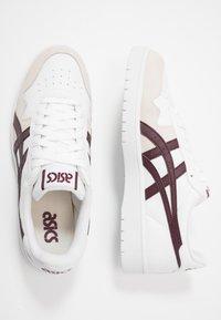 ASICS SportStyle - JAPAN UNISEX - Sneakersy niskie - white/deep mars - 1