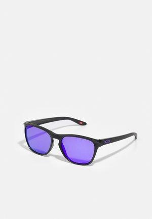 MANORBURN UNISEX - Lunettes de soleil - matte black/violet