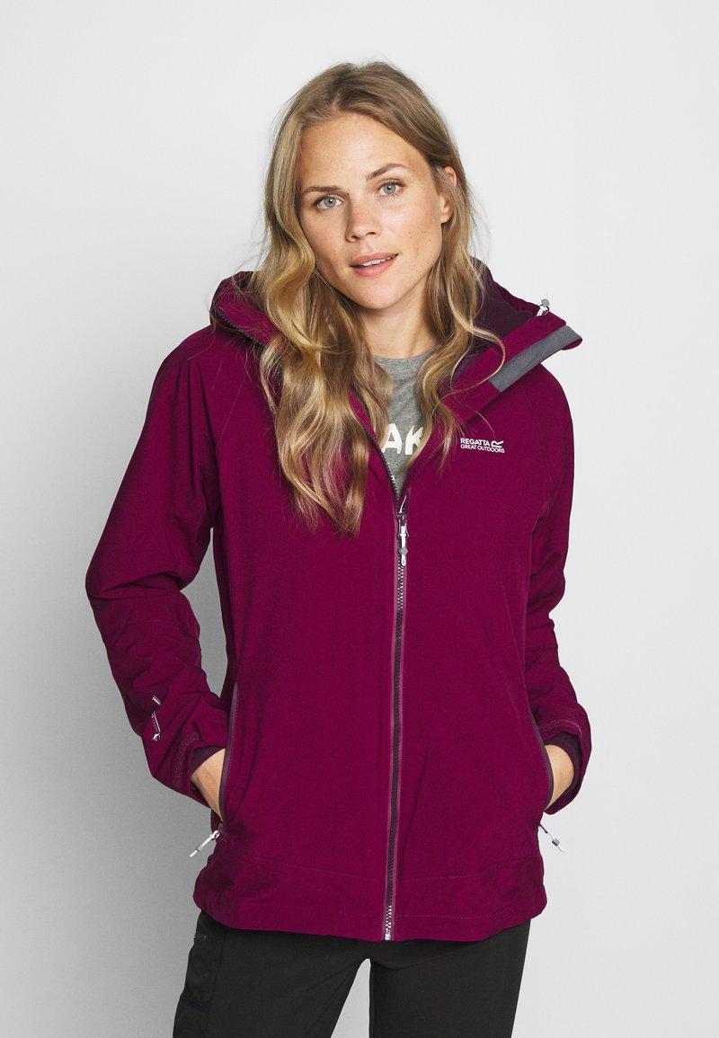 Regatta - WENTWOOD 2-IN-1 - Outdoor jacket - purpot