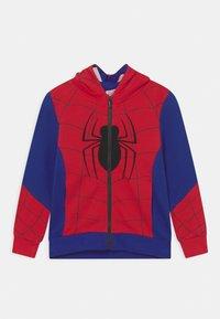 OVS - SPIDERMAN - Zip-up sweatshirt - barbados cherry - 0