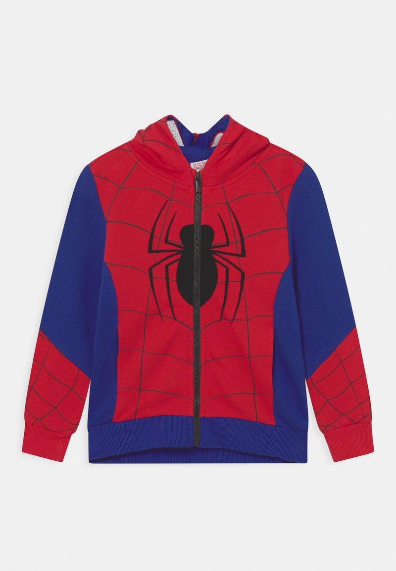 OVS - SPIDERMAN - Zip-up sweatshirt - barbados cherry