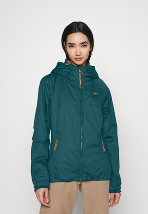 Waterproof jacket - petrol