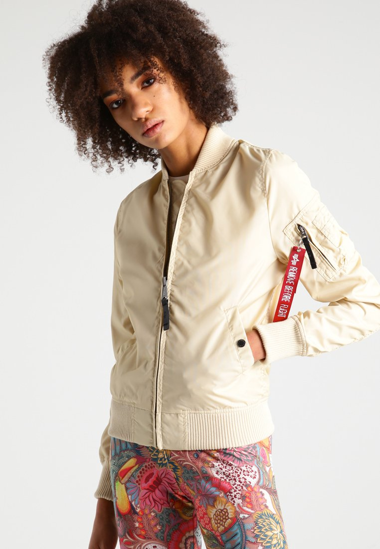 Alpha Industries - Bomber Jacket - caramel