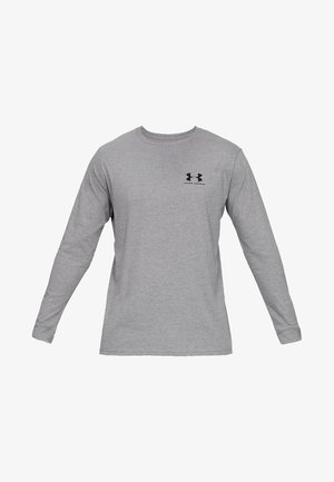 SPORTSTYLE LEFT CHEST - T-shirt de sport - steel light heather