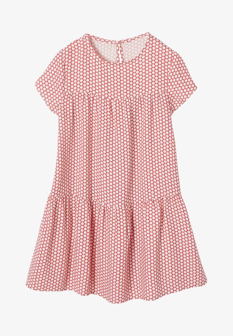 Vertbaudet - Day dress - red/white