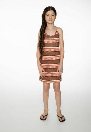 Jersey dress - sandstone
