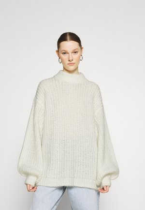 OVERSIZED SWEATER - Jumper - offwhite