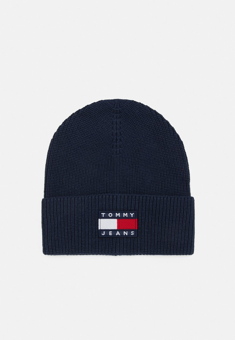 Tommy Jeans - HERITAGE BEANIE - Pipo - blue