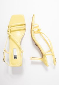 Topshop - ROME STRAPPY - Sandals - lime - 3