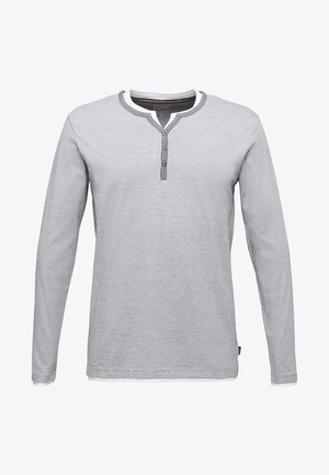 Long sleeved top - medium grey