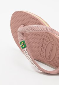 Havaianas - SLIM BRASIL LOGO - Pool shoes - crocus rose - 5